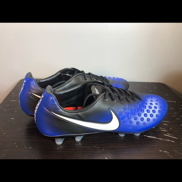 finest selection 5678a a8333 NIKE MAGISTA OPUS II FG SOCCER CLEATS 10.5 BLUE